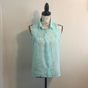 Women's Medium Teal  Blouse.